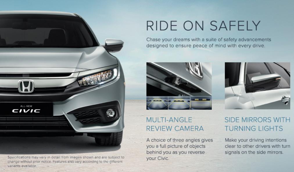 Honda Civic - Ride on Safely